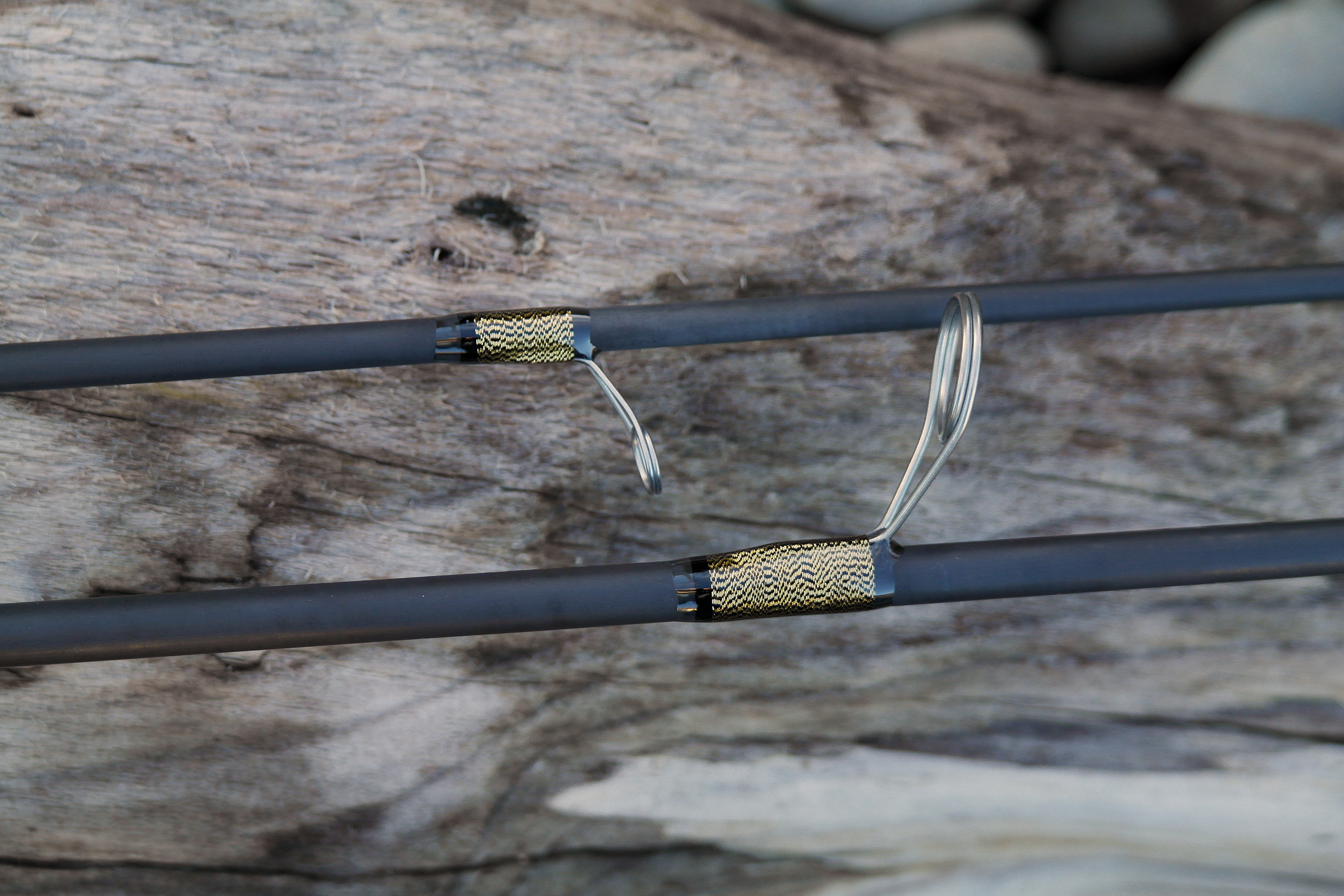 Reel tech custom 8 39 6 spinning rod headed for the east for Custom fishing poles