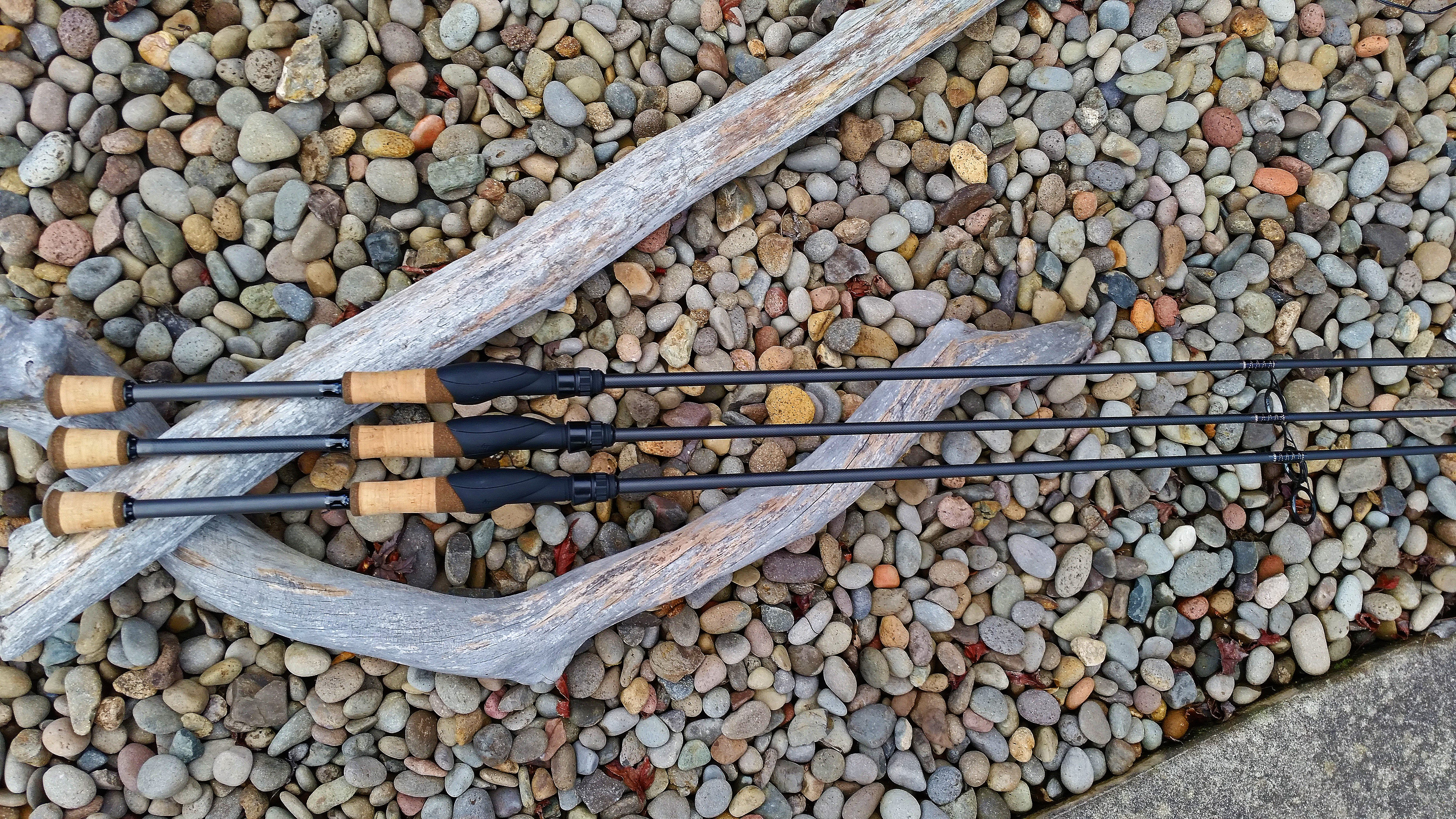Custom fishing rods for Bass fishing poles